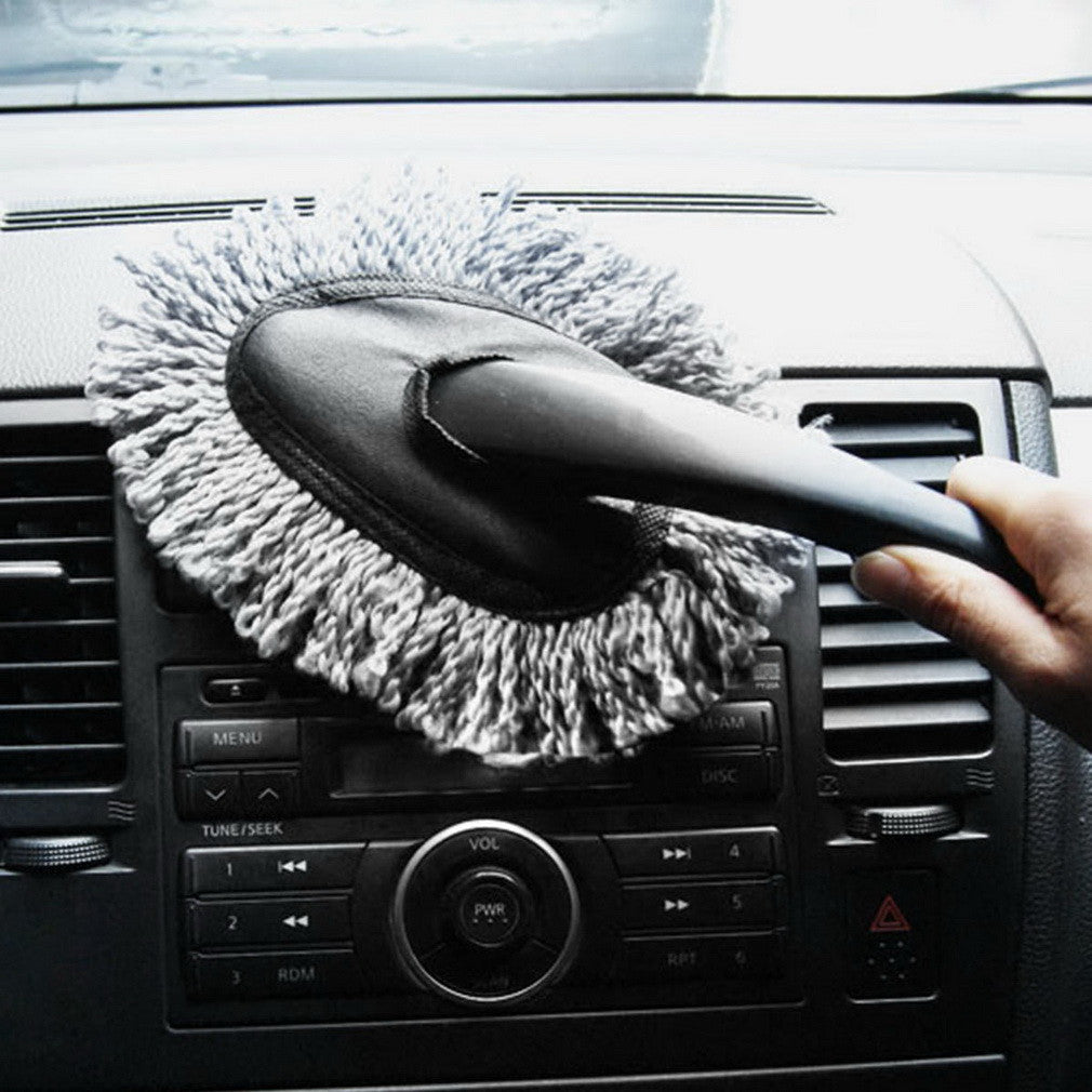 Free Shipping 1-pc High Quality Multi-functional Car Duster Cleaning Dirt Dust Cleaning Brush Tool