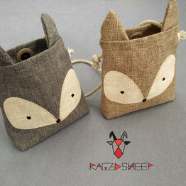 Small Raged Sheep Coin Purse / Wallet for Kids