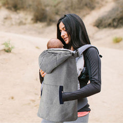 Grey Sling Cloak Baby Carrier