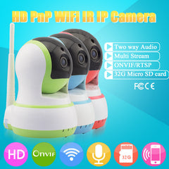 720P Wifi Wireless Infrared Camera IP Night Vision Mini Security Camera Baby Monitor