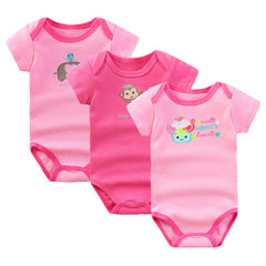 2017 Retail Baby Bodysuits Boy and Girl Clothes Summer Infant Jumpsuit Body Suit for Newborn Baby Clothing Set Baby Costume