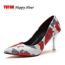 Fashionable High Heeled Pointed Toe Shoes