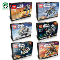 Star Wars Fighters Building Blocks Compatible with Lego Bricks