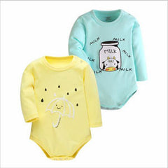 2 pcs Baby Bodysuit Rompers for Newborn