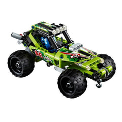 2 in 1 Warrior Off-Roader  3D Racing Car Building Blocks