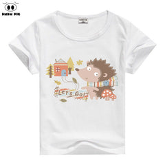 Baby Boys Short Sleeve Tops / Tees Suitable for Summer