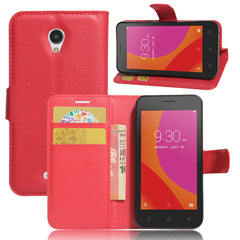 A Plus Cover PU Leather Wallet Flip Stand Cover For Lenovo