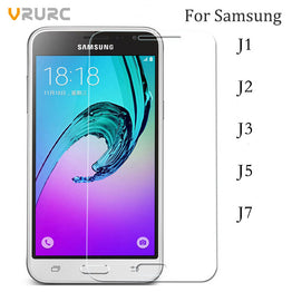 Vrurc Tempered Glass Screen Protector for Samsung Galaxy J Series