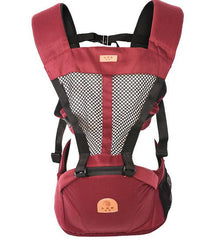 2 In 1 Ergonomic  Breathable Baby Carrier with Hood