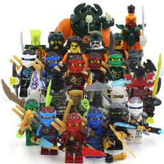 Morro Phantom Ninja Action Figures Blocks Toy