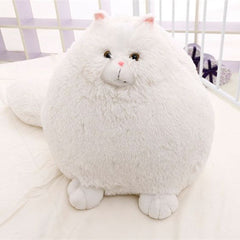 Big Puffy Tail Plush Stuffed Persian Cat