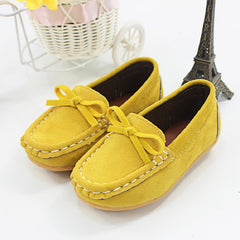 Breathable Flock Loafers for Girls / boys Shoes