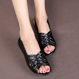 Summer Fashion Dough Flat Sandals