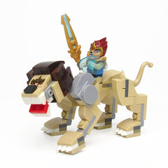 Chima Animal Lion Warrior Building Blocks