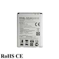 2100mAh Lithium-ion Polymer Battery BL-52UH BL 52UH For LG Mobile Phone
