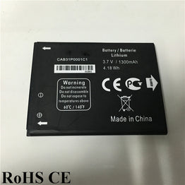1300mAh Lipo Replacement Battery for Alcatel One Touch