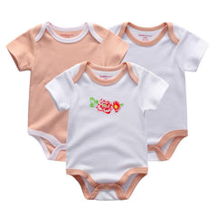 3 Pcs/Lot Baby Girls Jumpsuit Clothing