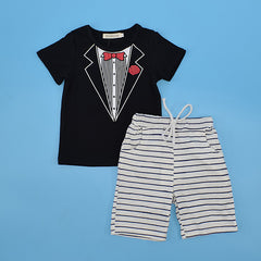 Breathable Summer Clothing Set for Baby Boys