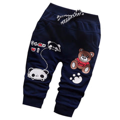 High Quality British Fashion Cartoon Character Boy Pants