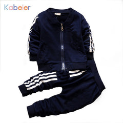 Cardigan Coat Sports Tracksuit for Boys