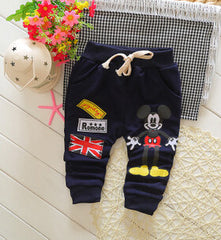Fashionable Unisex Autumn Design Trouser For Children
