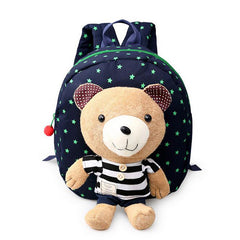 Bear Cartoon Doll Animal Design backpack for children
