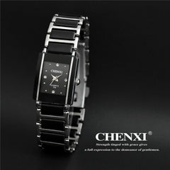 CHENXI Unisex Quartz Ceramic Watch