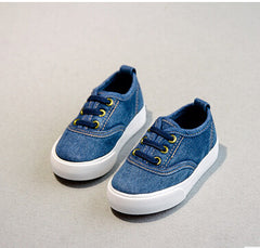 Fashion Canvas Denim Sneakers Shoes for Baby