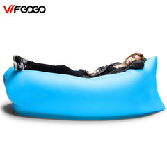 WFGOGO Lounger Fast Inflatable Sofa Outdoor Air Sleep Sofa Couch Portable Furniture
