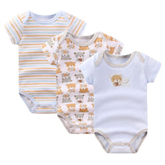 Baby Boy Cotton Clothes Set Jumpsuit