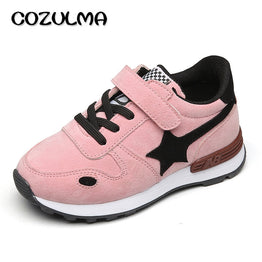 COZULMA 2017 Spring Autumn Children Sneakers Boys Girls Star Outdoor Sport Shoes Sneakers Kids Girl Boy Casual Shoes Size 26-35