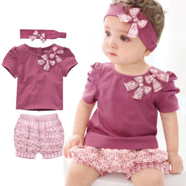 Summer Design Baby Clothes Sets
