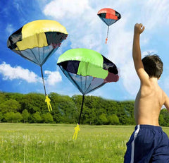 Drop and Throw Outdoor Toy parachute Set