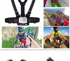 Xiao Hero 5/4/3/3+ Accessories Chest Belt Action Camera Holder Sport Cam