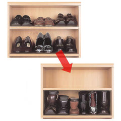 1 Pair Shoes Rack Plastic Organizer