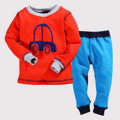 Pajama Winter Sets Fleece Design Baby Boy Clothing