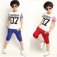 Stylistic Summer Clothing Sets for Boys