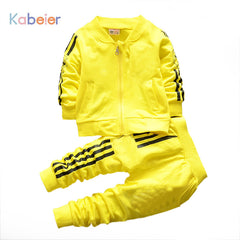 Casual Sports Jogging Sweatsuit Set for Kids