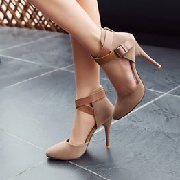 Fashionable Stiletto Nightclub Party Shoes