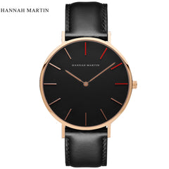 DW Style Unisex Black Nylon Strap Quartz Watch