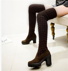 Thigh High Over the Knee Winter Boots
