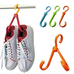 Multi Functional Foldable Shoes Hanger Drying Rack