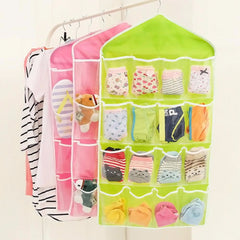 1 Piece Multi function 16 Pockets Wardrobe Hanging Organizer