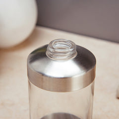 300ml Transparant Refillable Bottle