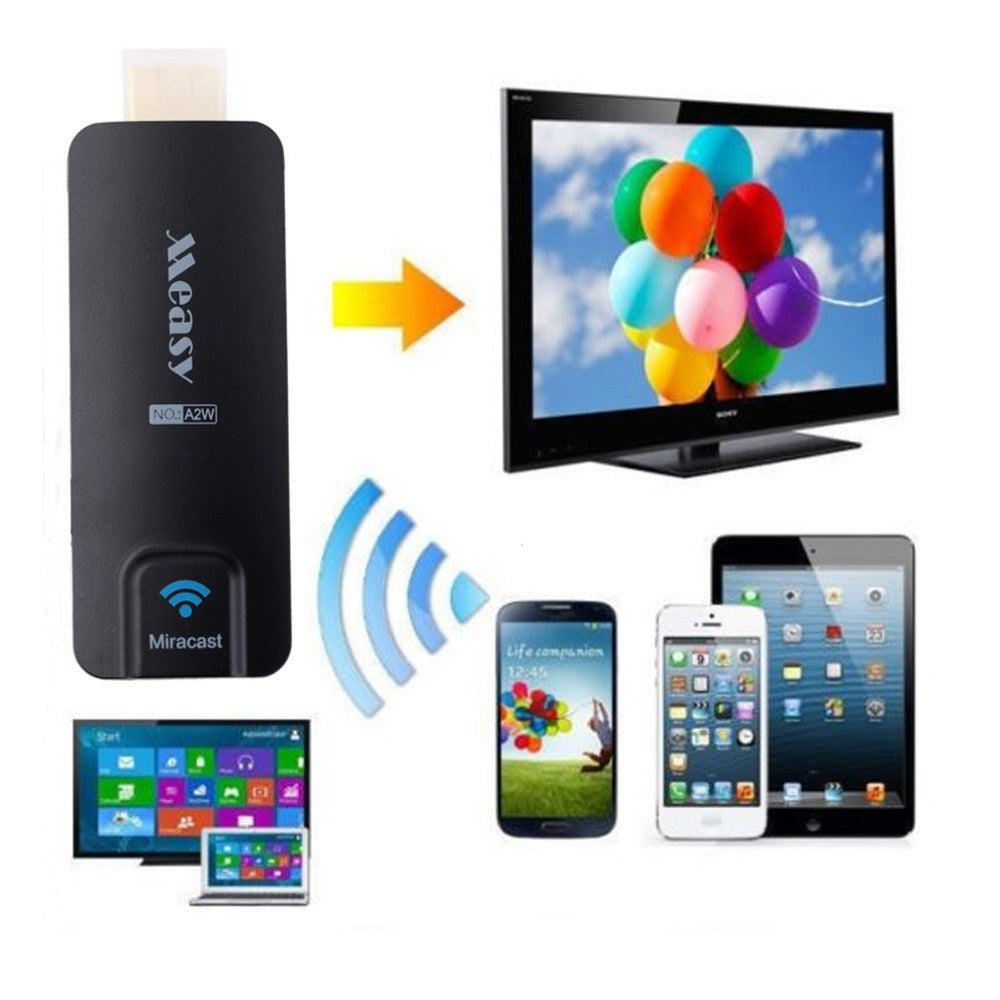 Measy A2W Miracast TV AirPlay Dongle DLAN Airplay EZCast HDMI WiFi