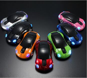2.4Ghz Car Shape Optical Wireless Gaming Mouse