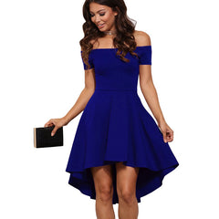 2017 Summer Elegant Vintage Dovetail Dress for Woman Plus Size 3 colors