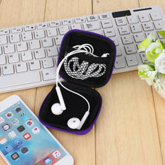 Headphones Travel Organizer Bags Earphone Cable Earbuds Storage Bag