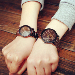 Soxy New Luxury Unisex Casual Steel Watch