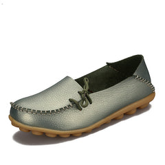 Four Seasons Casual Cow Muscle Outsole Genuine Leather Shoes